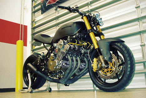 Honda cbx custom m a g for Dale sharp honda