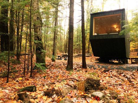 Ces maisons totalement écologiques offrent une expérience unique en plein cœur de la forêt | Immobilier | Scoop.it