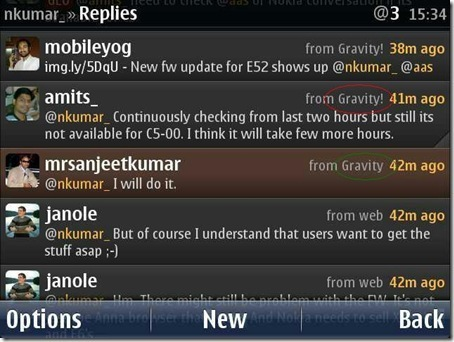 Gravity Build 6801 Maintenance release for xAuth-to-OAuth changes, brings Facebook Previews « Nitish Kumar's Blog | Nokia, Symbian and WP 8 | Scoop.it