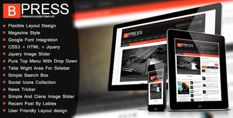 B Press Blogger Templates Free Download - GuidePedia | www.guidepedia.info | Scoop.it