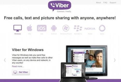 Viber lança aplicativos Windows e Mac para competir com Skype | ICT Resources for Teachers | Scoop.it