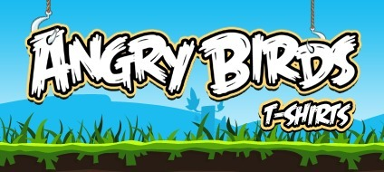 Angry Birds Tee's & T-Shirts for Men, Women, and Juniors | Angry Birds | Scoop.it