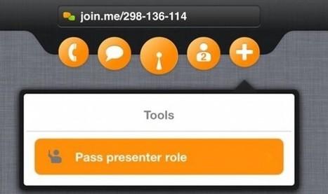 Nuevo Join.me facilita la realización de reuniones usando iPad | Innovación docente universidad | Scoop.it