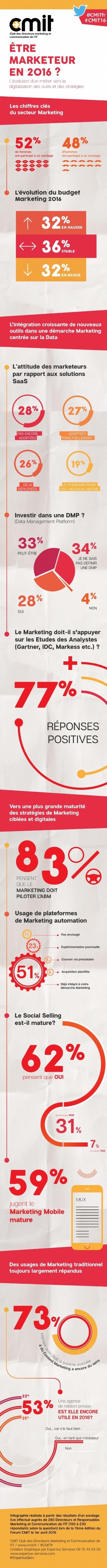 Quelle est la vision des marketeurs en 2016? - Mobile marketing | marketing digital | Scoop.it