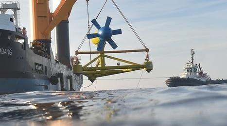Bretagne: La seule hydrolienne raccordée en mer a été débranchée | Energies Renouvelables | Scoop.it