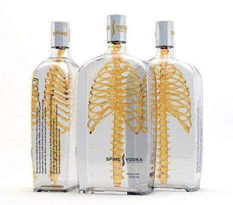 Spine Vodka Packaging | art&craft | Scoop.it