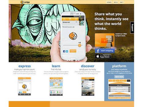 Swipp le reseau social qui fait dans le Big Data... | Réseaux sociaux et Curation | Scoop.it
