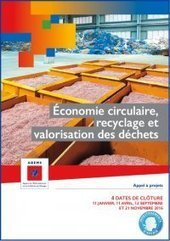 Economie circulaire, recyclage et valorisation des déchets – ADEME | Eco | Scoop.it