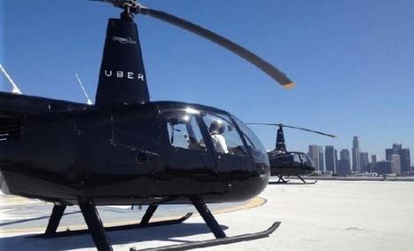 Uber prepara su propia flota de helicópteros | Blogística | Scoop.it