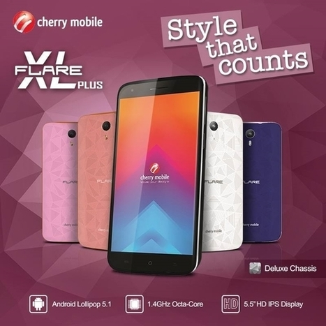 Cherry Mobile Flare XL Plus: 5.5-inch HD Screen, Octa-core CPU, 2GB RAM for only Php3,999 | NoypiGeeks | Philippines' Technology News, Reviews, and How to's | Gadget Reviews | Scoop.it