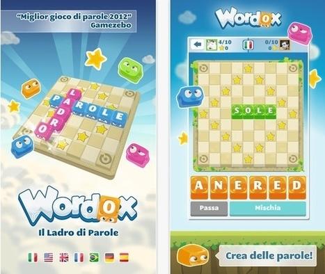 Wordox Il Ladro di Parole: un classico gioco di parole in lingua italiana - iPhoneItalia - Il blog italiano sull'Apple iPhone | comeItaliani. Lingua e cultura italiana | Scoop.it