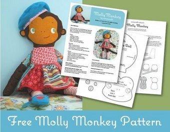 mmmcrafts: drum roll please...Molly Monkey pattern done! | Handarbeit | Scoop.it