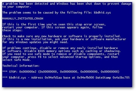 How to Fix the Blue Screen of Death on Windows | Microsoft  Support By InfoTechline | Scoop.it