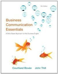 Test Bank For » Test Bank for Business Communication Essentials, 5th Edition : Bovee Download | Management Test Bank | Scoop.it