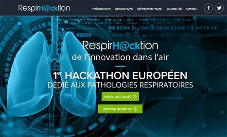 RespirH@cktion : 1er hackathon européen dédié aux maladies respiratoires | Buzz e-sante | Scoop.it