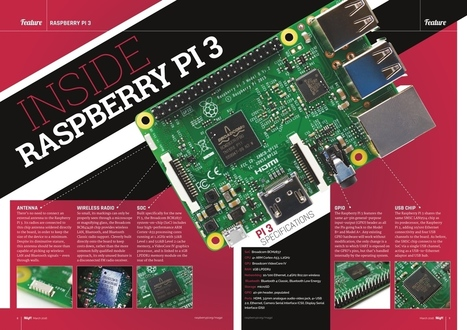 Learn more about the Raspberry Pi 3 in The MagPi 43! - Raspberry Pi | Raspberry pi Project | Scoop.it