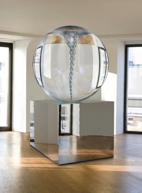 Mesmerizing Liquid Tornado in a Glass Sphere - My Modern Metropolis | Le It e Amo ✪ | Scoop.it