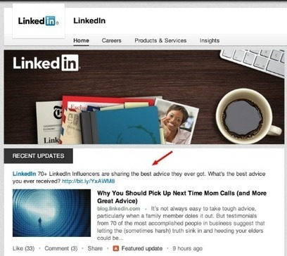 5 Creative Ways to Use LinkedIn Company Pages | Get a Job Tips | Scoop.it