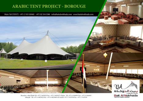 Arabic Tent for BOROUGE   Bait Al Nokhada   Tents for Sale & Hire for Wedding, Ramadan, Exhibitions, Trade Shows, Corporate Events, Conferences, Sports Events, Concerts,etc   Scoop.it