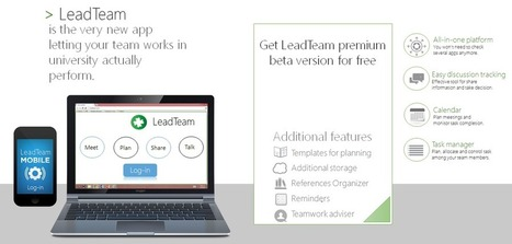 First Landing Page   LeadTeam   Scoop.it