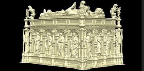 Des tombes de la période Tudor reconstituées en 3D - Le Nouvel Observateur | Le numérique pour la conservation du patrimoine | Scoop.it