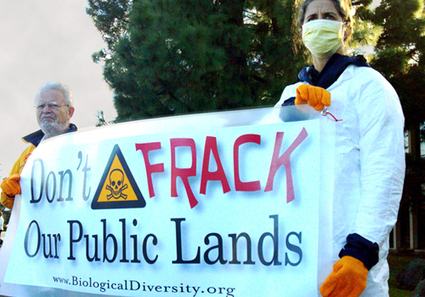 Fracking Protest Targets Federal Auction of California Public Land | EcoWatch | Scoop.it