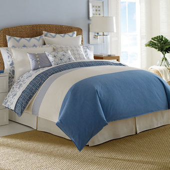 Nautica Cali Coast Bedding Collection from Beddingstyle.com | Blue and White Bedding | Scoop.it