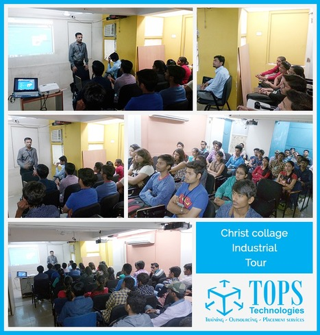 Students of Christ College Rajkot visited TOPS Technologies on 25th Feb 2016 | IT Traininig | Scoop.it