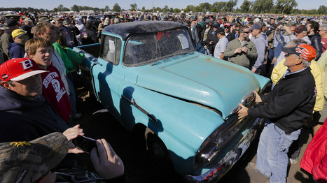 The $142000 Pickup: Truck With 1.3 Miles Tops Vintage Car Auction - NPR (blog) | Stuff | Scoop.it