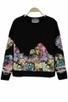 Street-chic Floral Sweatshirt - OASAP.com | Oasap street fashion | Scoop.it