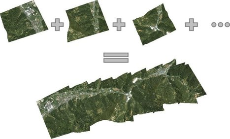 Using Drones to Create Fast Orthorectified Maps - GIS Lounge | Imagem Agronegócio | Scoop.it