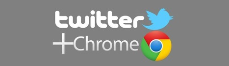 10 Useful Twitter Apps for Google Chrome | Searching & sharing | Scoop.it