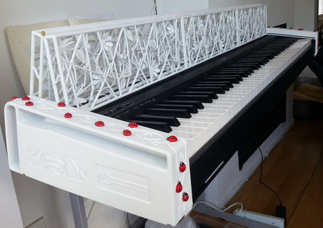 3D Printed Ladybug Keyboard from ODD Guitars and 3D Systems - 3D Printing Industry | 3D Me | Scoop.it