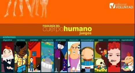 Fisiología del cuerpo humano. Juegos   carlota_j   Scoop.it