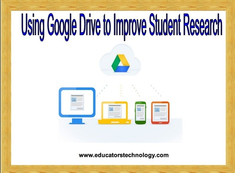 9 Things Every Student Should Be Able to Do with Google Drive ~ Educational Technology and Mobile Learning | Awesome Technology | Scoop.it