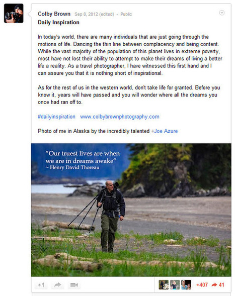 Social Media for Photographers | Colby Brown Photography | curating your interests | Scoop.it