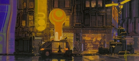 The Art Of Blade Runner : Original Matte Paintings and Sketches - Daily Art, Movie Art | Design to Humanise | Scoop.it
