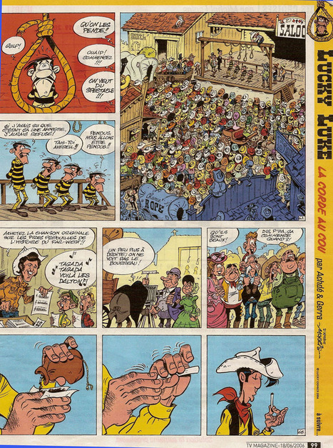 #226 ❘ Lucky Luke ❘ 1949 | # HISTOIRE DES ARTS - UN JOUR, UNE OEUVRE - 2013 | Scoop.it