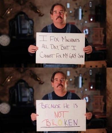 Not Broke? Don't Fix It   Christian Homophobia   Scoop.it