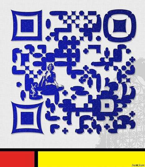 QRcode Design – Yves Saint Laurent dans le Jardin Marjorelle | QRdressCode | Scoop.it