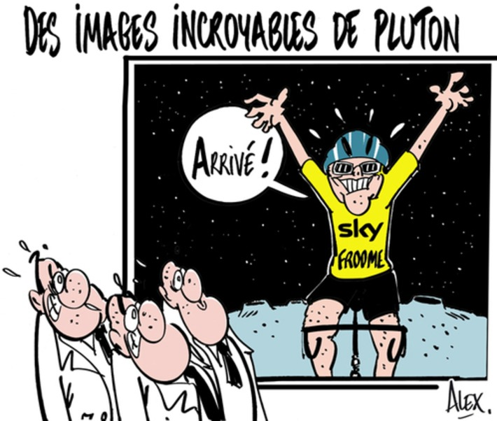 Des images incroyables de Pluton | Baie d'humour | Scoop.it