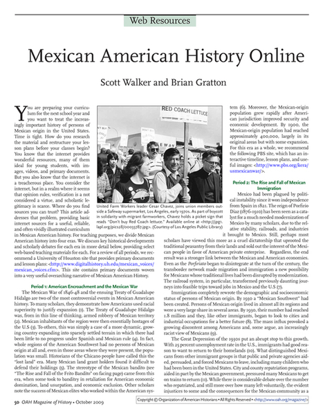 Primary Document #1 | Mexican Americans ( 1930's ) | Scoop.it