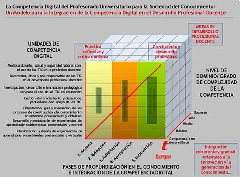 Competencia digital docente | El Camarote | Educación a Distancia y TIC | Scoop.it