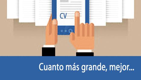 El tamaño sí importa. ¿Cuántas páginas debe tener mi CV? | Emplé@te 2.0 | Scoop.it