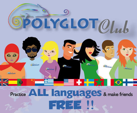 Polyglot Club Official Website - Practice languages and find friends | digital study | Scoop.it