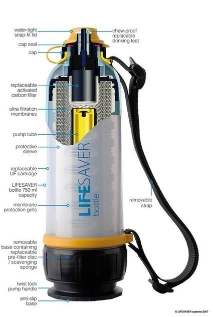 Bouteille Lifesaver : de l'eau potable dans votre poche | Solutions autour de l'eau | Scoop.it