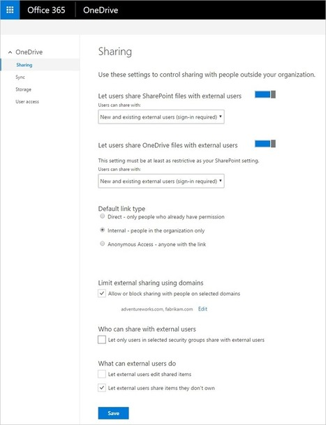 Major OneDrive updates at Ignite 2016 include SharePoint Online sync preview - Office Blogs | Sharepoint 2013 FR - OFFICE 365 - YAMMER | Scoop.it