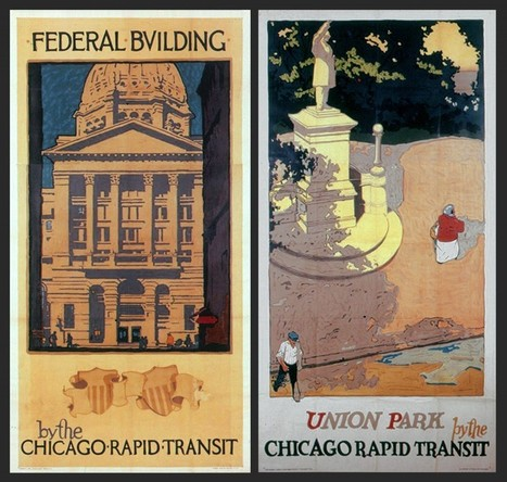 A True Visionary Gives Chicago A Landmark Branding Campaign Circa 1920-30 | D_sign | Scoop.it