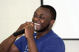 Child soldier's story grips Sudbury students | Little Soldier Africa | Scoop.it