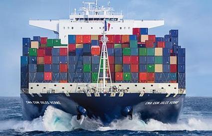 CMA CGM célèbre ses 35 ans avec l'inauguration du Jules Verne | Mer et Marine | Conteneurs | Scoop.it